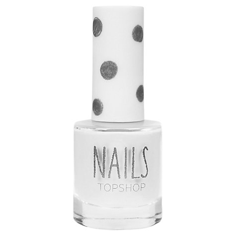 Buy TOPSHOP Nails - Spilled Milk Online at johnlewis.com