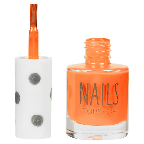 Buy TOPSHOP Nails - Brights Online at johnlewis.com