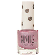 Buy TOPSHOP Nails - Shimmer, Powder Pink Online at johnlewis.com