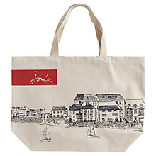 Buy Joules Canvas Shopper Bag Online at johnlewis.com