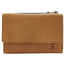 Buy Joules Finchley Tri Fold Purse, Tan Online at johnlewis.com