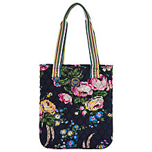Buy Joules Queensbury Quilted Shopper Bag, Navy/Floral Online at johnlewis.com