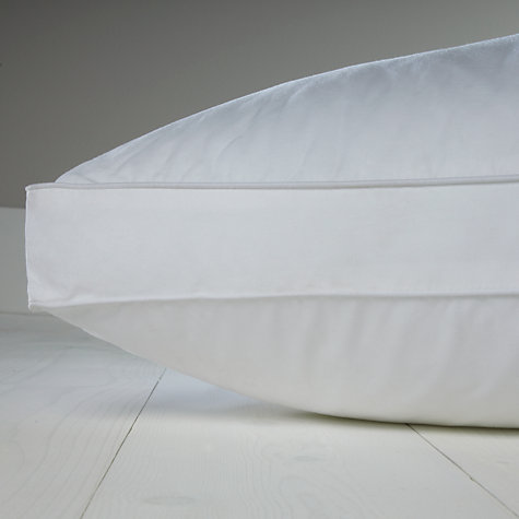 Buy John Lewis Sleep Solution Back Sleeper Standard Pillow, Medium Online at johnlewis.com