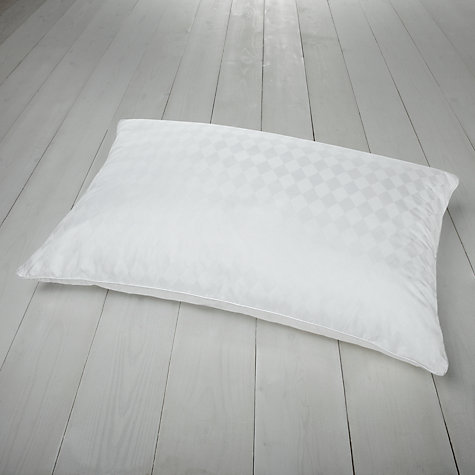 Buy John Lewis Latex with Duck Down Standard Pillow, Medium/Firm Online at johnlewis.com