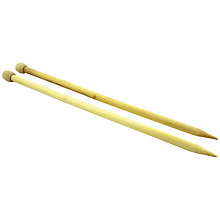 Buy DMC Hoooked Zpaghetti Bamboo Knitting Needles, 10mm Online at johnlewis.com
