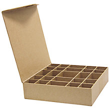 Buy Decopatch Papier Mache Craft Sorting Box, 25 Compartments Online at johnlewis.com