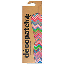 Buy Decopatch Paper, Pack of 3, Pink/Green/Blue Zig-Zag Online at johnlewis.com