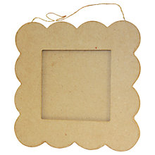 Buy Decopatch Flat Scallop Edged Photo Frame Online at johnlewis.com
