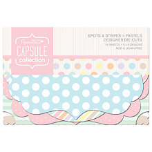 Buy Docrafts Papermania Capsule Collection Pastel Die-Cuts, Pack of 18 Online at johnlewis.com