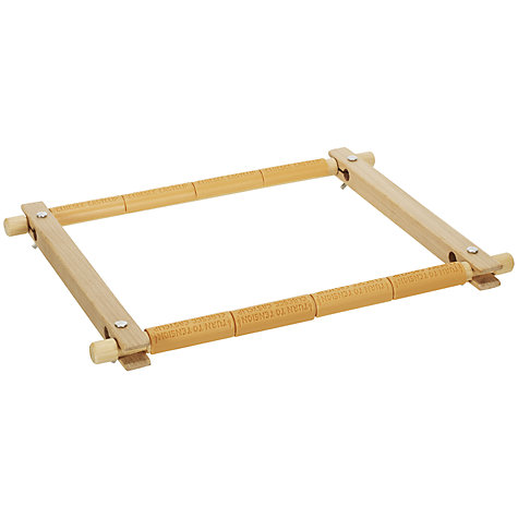 "Buy Embroidery Wooden Seat Frame, 10"" Online at johnlewis.com"