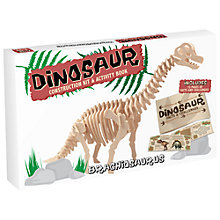 Buy Professor Puzzle Dinosaur Construction Kit, Brachiosaurus Online at johnlewis.com