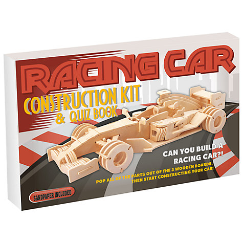 Buy Professor Puzzle Racing Car Construction Kit Online at johnlewis.com