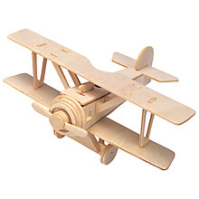 Buy Professor Puzzle Aeroplane Construction Kit Online at johnlewis.com
