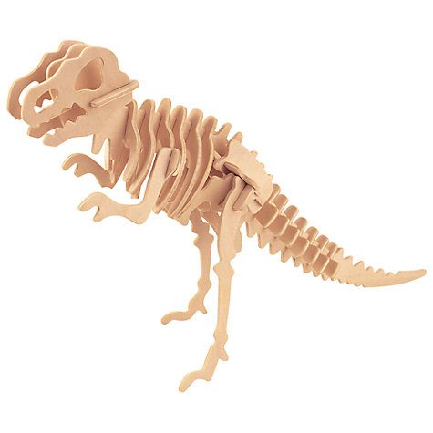 Buy Professor Puzzle Dinosaur Construction Kit, T-Rex Online at johnlewis.com