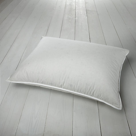 Buy John Lewis Anti Allergen Pyrenean Down Standard Pillow, Medium/Firm Online at johnlewis.com