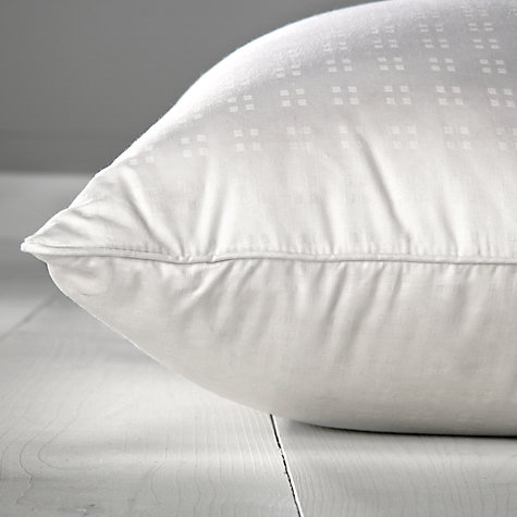 Buy John Lewis Superior Siberian Goose Down Standard Pillow, Medium/Firm Online at johnlewis.com
