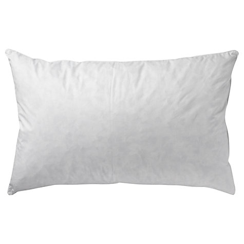 Buy John Lewis New Supreme White Goose Down Standard Pillow, Soft/Medium Online at johnlewis.com