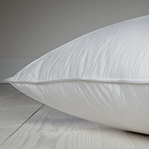 Buy John Lewis New Supreme White Goose Down Standard Pillow, Medium Online at johnlewis.com