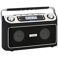 Buy Pure Elan II DAB/FM Digital Radio, Black Online at johnlewis.com