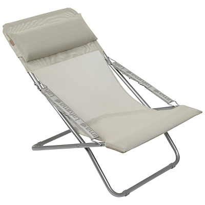Lafuma Transabed XL Outdoor Relaxer Chair, Seigle
