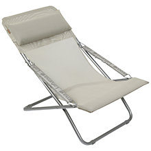Buy Lafuma Transabed XL Outdoor Relaxer Chair, Seigle Online at johnlewis.com