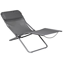 Buy La Fuma Transalounge Outdoor Relaxer Chair, Carbon Online at johnlewis.com