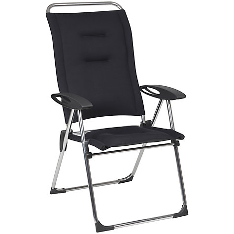 Buy Lafuma Cham Elips Outdoor Recliner Chair, Acier Online at johnlewis.com