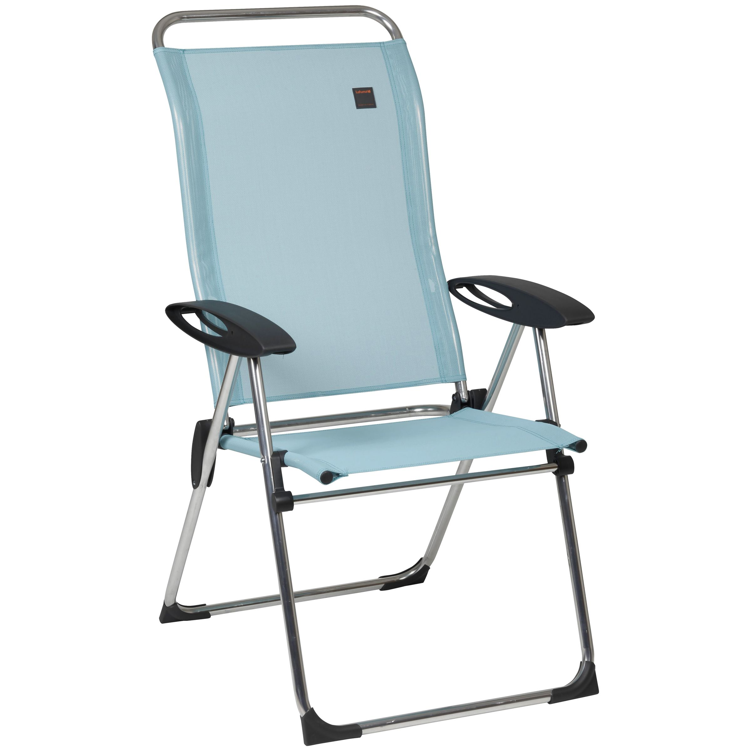 Lafuma Cham Elips Outdoor Recliner Chair, Arctic