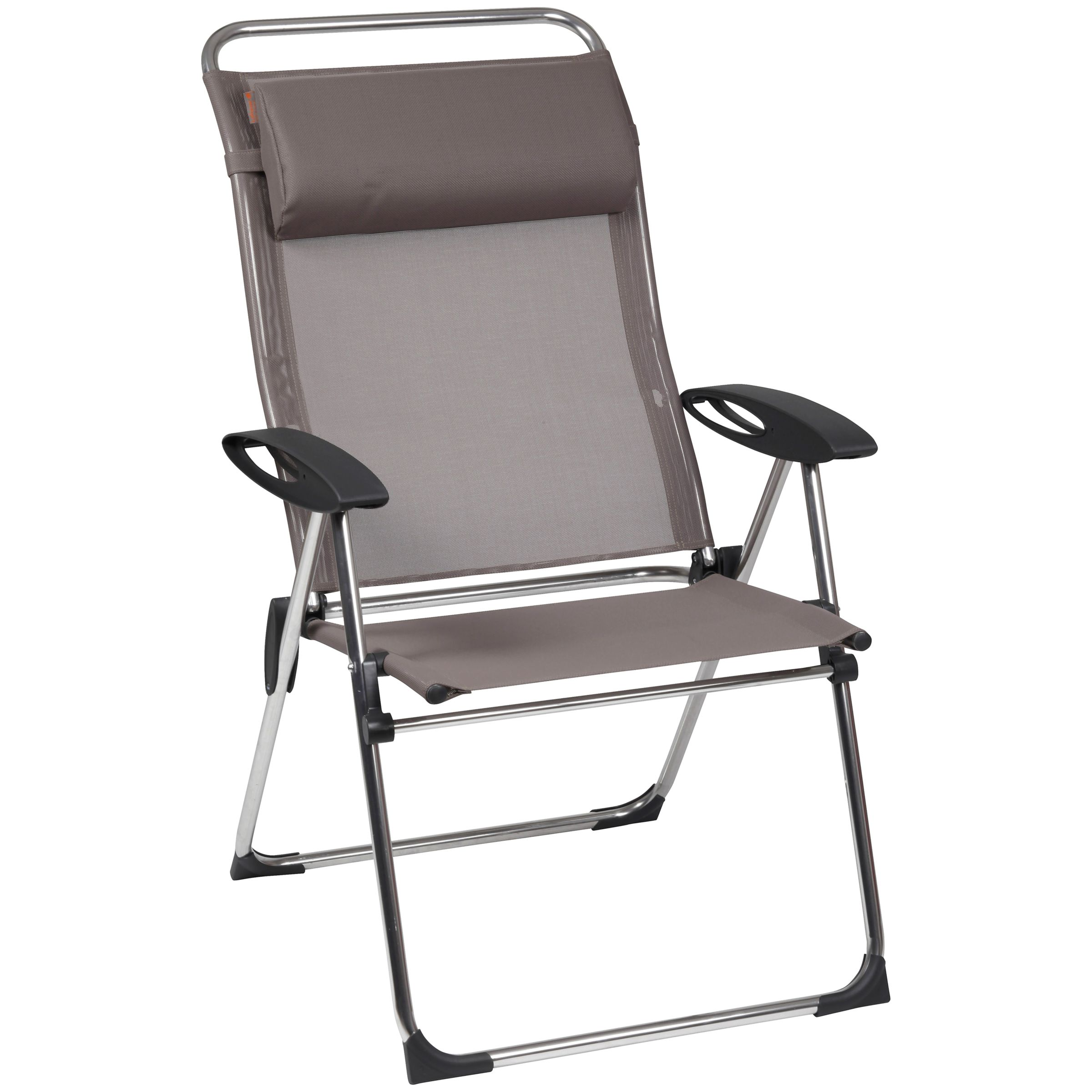Lafuma Cham Elips XL Outdoor Recliner Chair, Ecorce