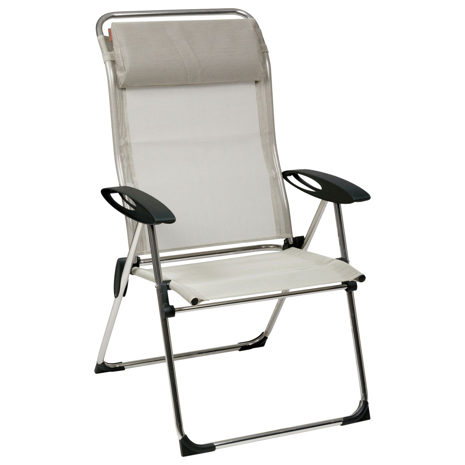 Lafuma Cham Elips XL Outdoor Recliner Chair, Seigle