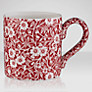 Burleigh Calico Mug, 0.29L, Red