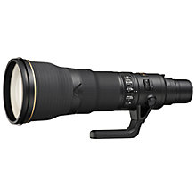 Buy Nikon FX 800mm f/5.6E FL ED VR AF-S Telephoto Lens Online at johnlewis.com