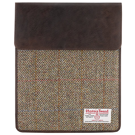 Buy JOHN LEWIS & Co. Harris Tweed iPad Cover Online at johnlewis.com