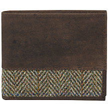 Buy JOHN LEWIS & Co. Harris Tweed Wallet Online at johnlewis.com