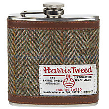 Buy JOHN LEWIS & Co. Harris Tweed Hip Flask Online at johnlewis.com