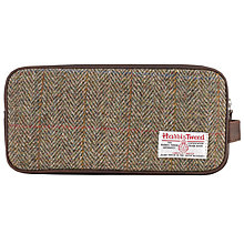Buy JOHN LEWIS & Co. Harris Tweed Wash Bag Online at johnlewis.com