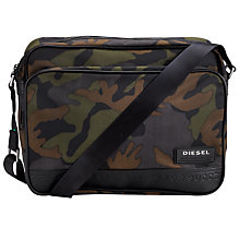 Buy Diesel Potsie Camouflage Messenger Bag Online at johnlewis.com