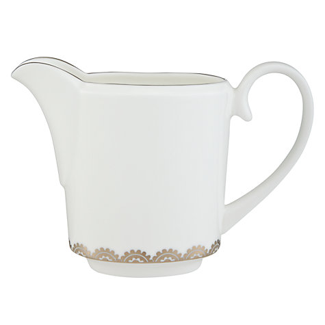 Buy Vera Wang For Wedgwood Flirt Creamer, 0.17L, Silver Online at johnlewis.com