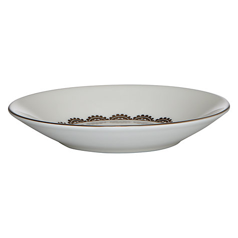 Buy Vera Wang for Wedgwood Flirt Tea Saucer, Dia.14cm, Silver Online at johnlewis.com