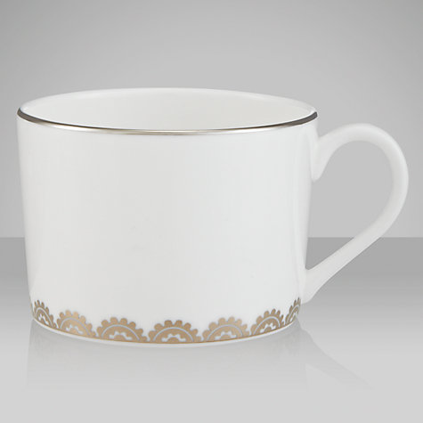 Buy Vera Wang for Wedgwood Flirt Teacup, 0.17L, Silver Online at johnlewis.com
