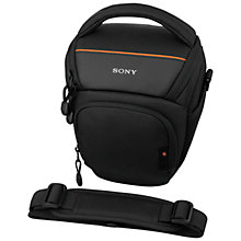 Buy Sony LCS-AMB DSLR Camera Case, Black Online at johnlewis.com