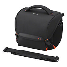 Buy Sony LCS-SC8 System Camera Case, Black Online at johnlewis.com