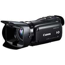 "Buy Canon LEGRIA HF G25 HD 1080p Camcorder, 2.37MP, 10x Optical Zoom, 3.5"" Touchscreen, Black with Memory Card Online at johnlewis.com"