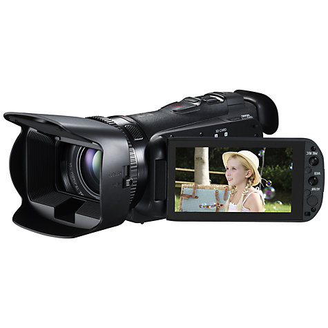 Buy Canon LEGRIA HF G25 HD 1080p Camcorder, 2.37MP, 10x Optical Zoom, 3.5 Touchscreen, Black Online at johnlewis.com