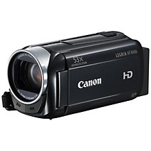 "Buy Canon LEGRIA HF R406 HD 1080p Camcorder, 3.28MP, 32x Zoom, 3"" Touch Screen, Black Online at johnlewis.com"