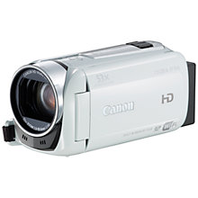 "Buy Canon LEGRIA HF R46 HD 1080p Camcorder, 3.28MP, 32x Optical Zoom, 8GB,  Wi-Fi, 3"" Touch Screen Online at johnlewis.com"