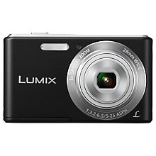 "Buy Panasonic Lumix DMC-F5EB Camera, HD 720p, 14.1MP, 5x Optical Zoom, 2.7"" LCD Screen Online at johnlewis.com"