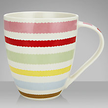 Buy Cath Kidston Wobble Mug, 0.5L Online at johnlewis.com