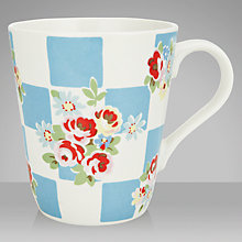 Buy Cath Kidston Rose Check Mug, 0.5L Online at johnlewis.com