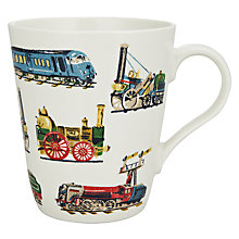 Buy Cath Kidston Trains Mug, 0.5L Online at johnlewis.com